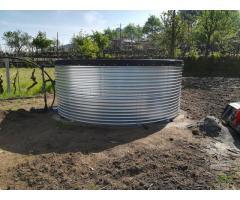 Reservatórios de água chave na mão