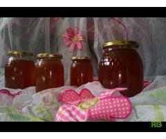 Vendo mel somente produzido pelas abelhas.