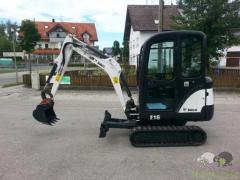 Escavadeira Bobcat E1c6c