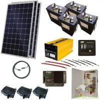 Sistema Fotovoltaico Autônomo Completo de 3Kw com Instalação incluída