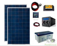Kit Painel Fotovoltaico NOVO solar auto produção autoconsumo - 2000w